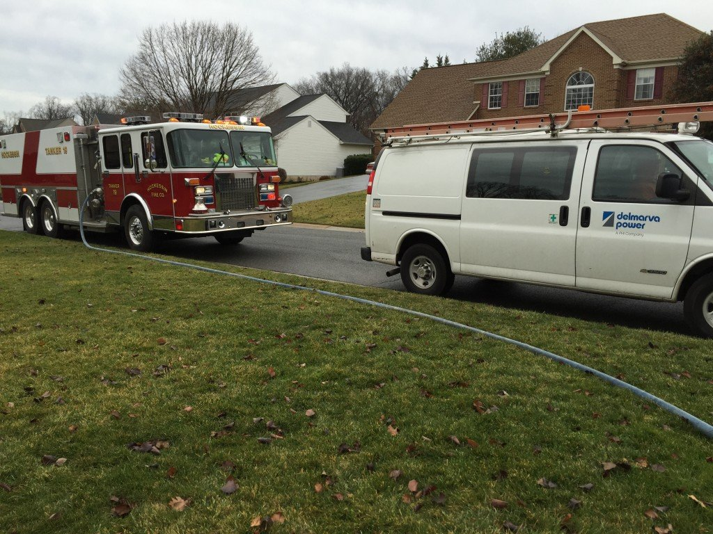 Residential Gas Leak
