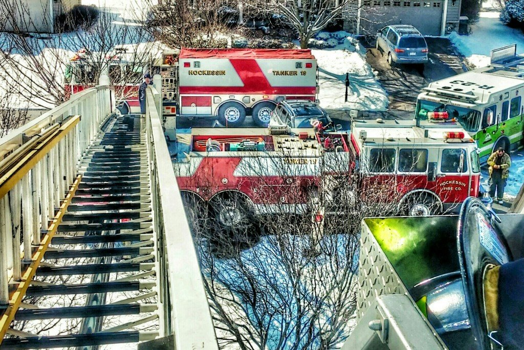 Tower Assist–Residential Fire