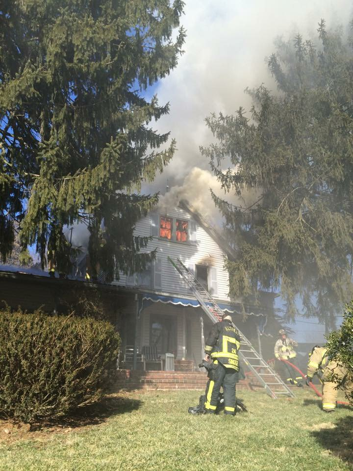 Assist on Residential Fire-Kennett Township, PA