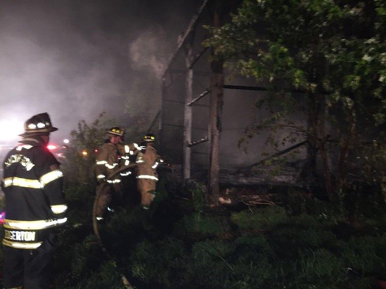 Barn Fire-Landenberg, PA